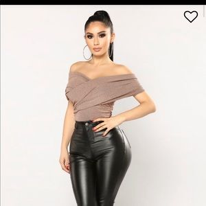 Fashion Nova Tops - Fashion nova ex sir body suit